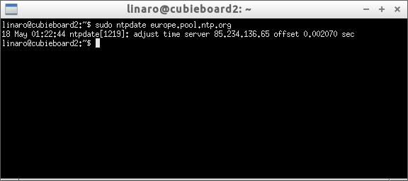 Cubieboard - setting time zone and NTP on ubuntu - Home Circuits