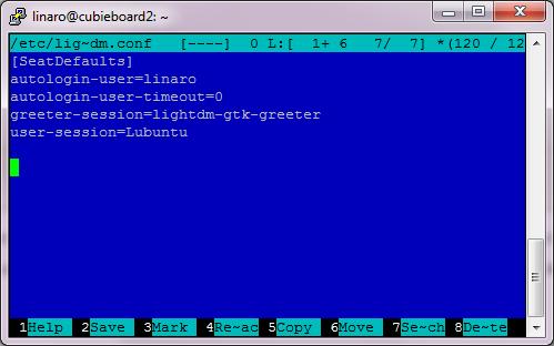 Cubieboard2 - Lubuntu installation - Home Circuits