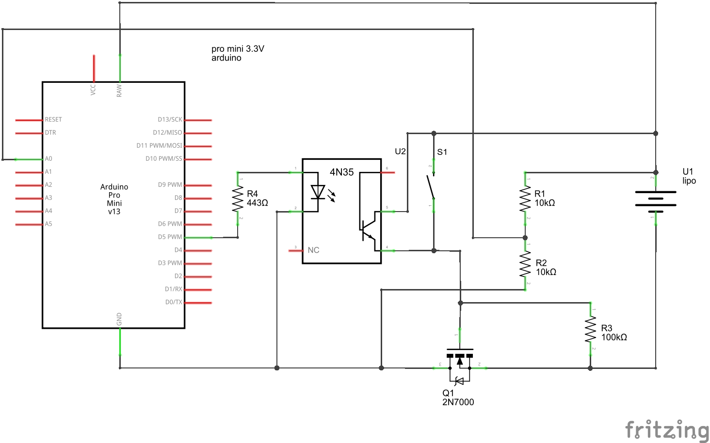 Simple Low Voltage Disconnect Circuit for Arduino - Home Circuits