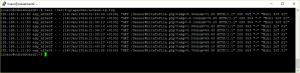 ESO8266 server log