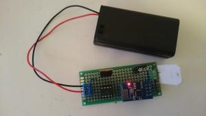 ESP8266 battery DHT1