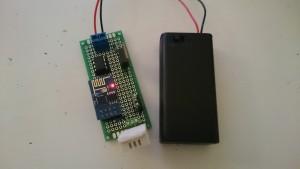 ESP8266 battery DHT2