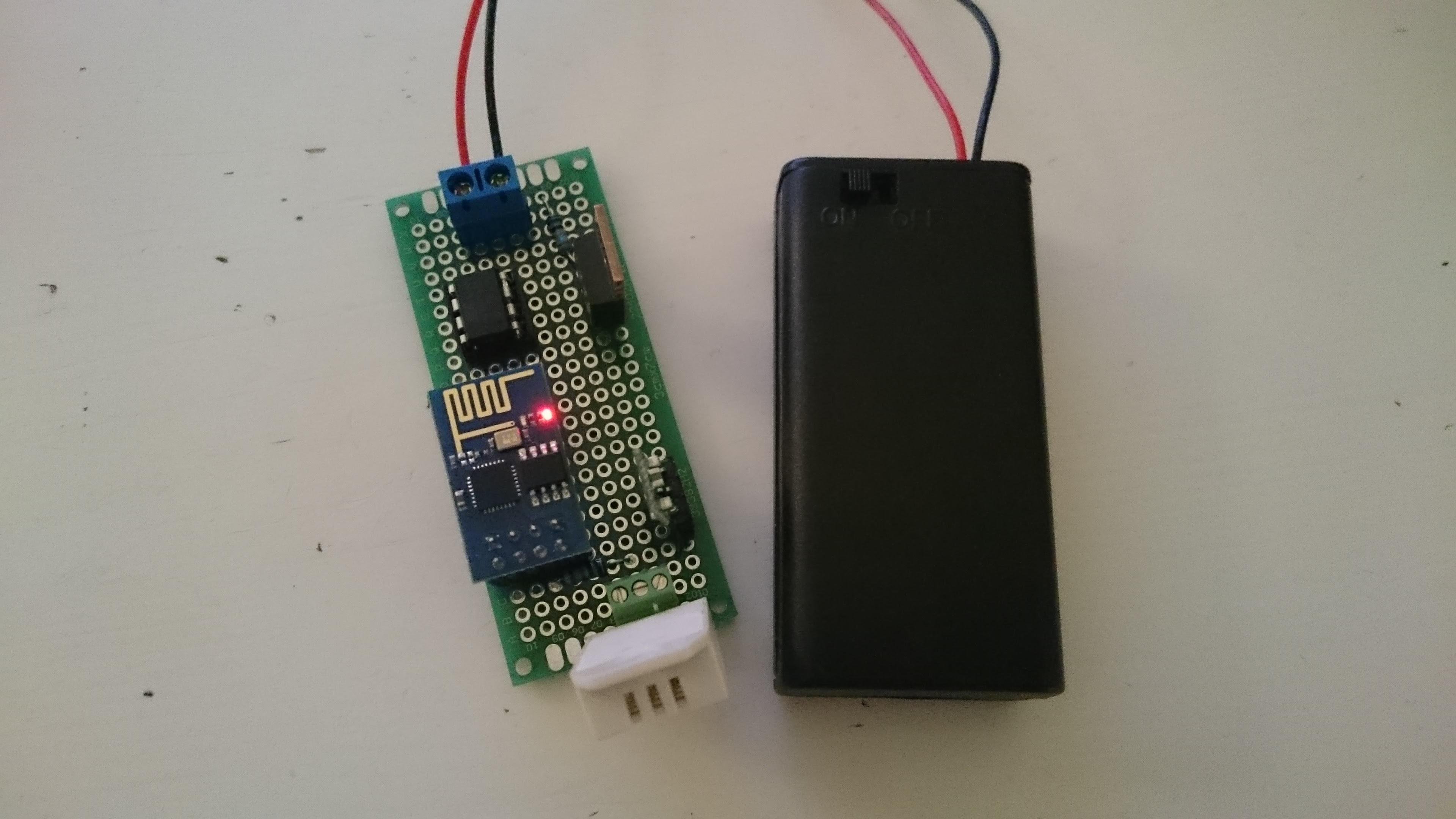 Battery Powered Esp8266 Iot Temperature Sensor Home Circuits Analog Controller 8211 Relay Dht2
