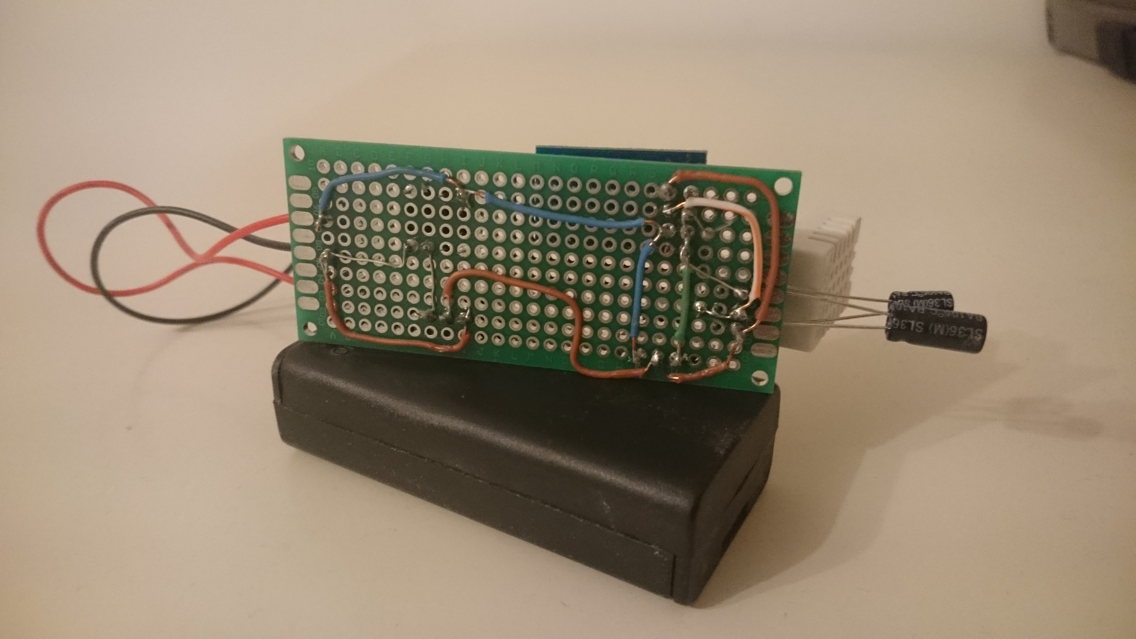 Battery Powered ESP8266 IoT - Temperature Sensor - Home Circuits