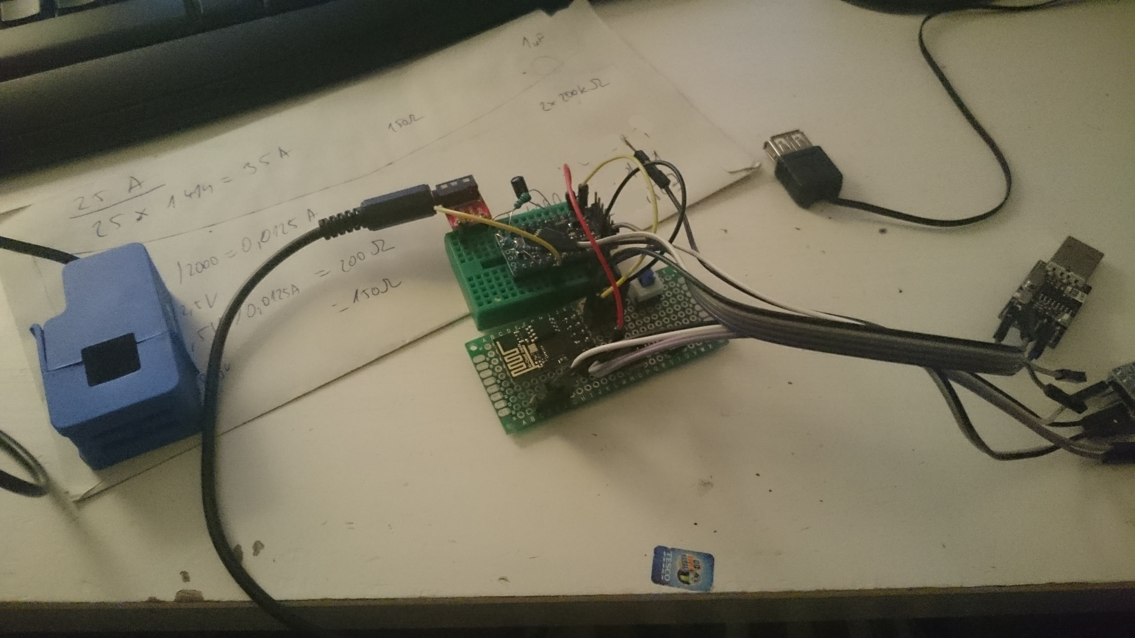 Wifi Energy Monitor Home Circuits Circuit Ac Prototyping Prototyping2